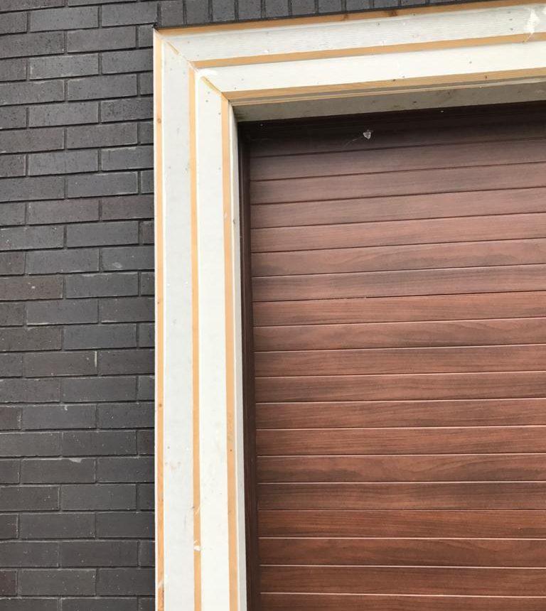 Door Installation & Cedar Soffit